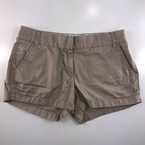 J.Crew Broken In Chino Flat Front Shorts DS15